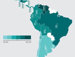 Malware en los países de Latinoamérica