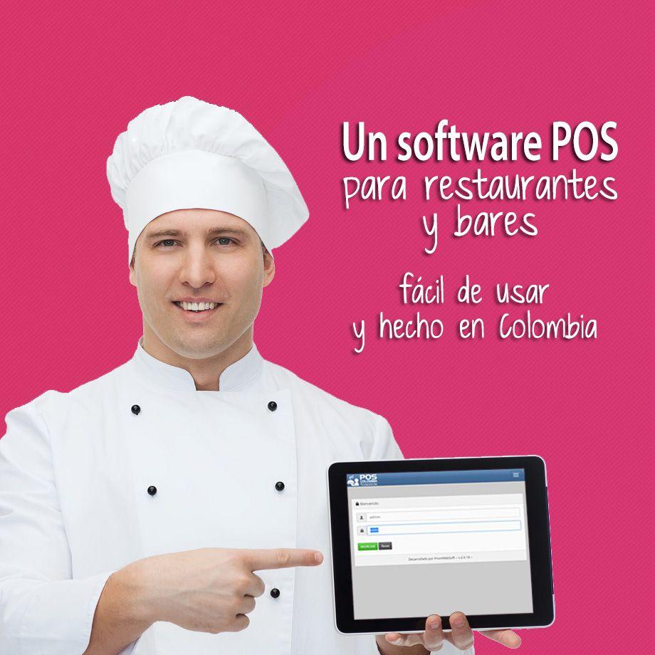 Un software POS para restaurantes y bares hecho en Colombia y fácil de usar