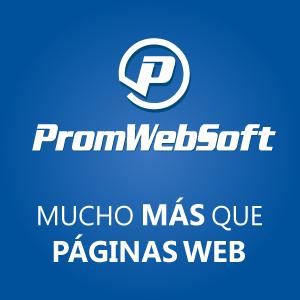 PromWebSoft - Mucho más que páginas web